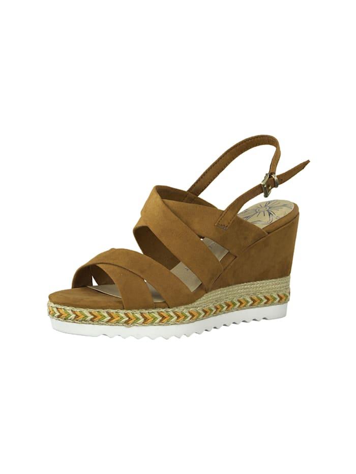 marco tozzi - Sandale Sandale  braun