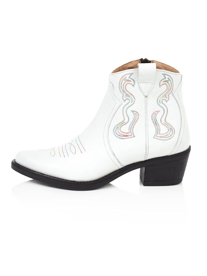 reken maar - Cowboy-Boot  Weiß