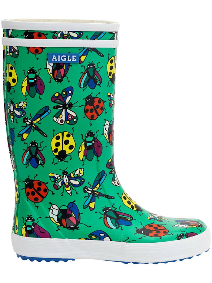 aigle - Stiefel Lolly-PopTheme grün Insekten  INS GARDEN