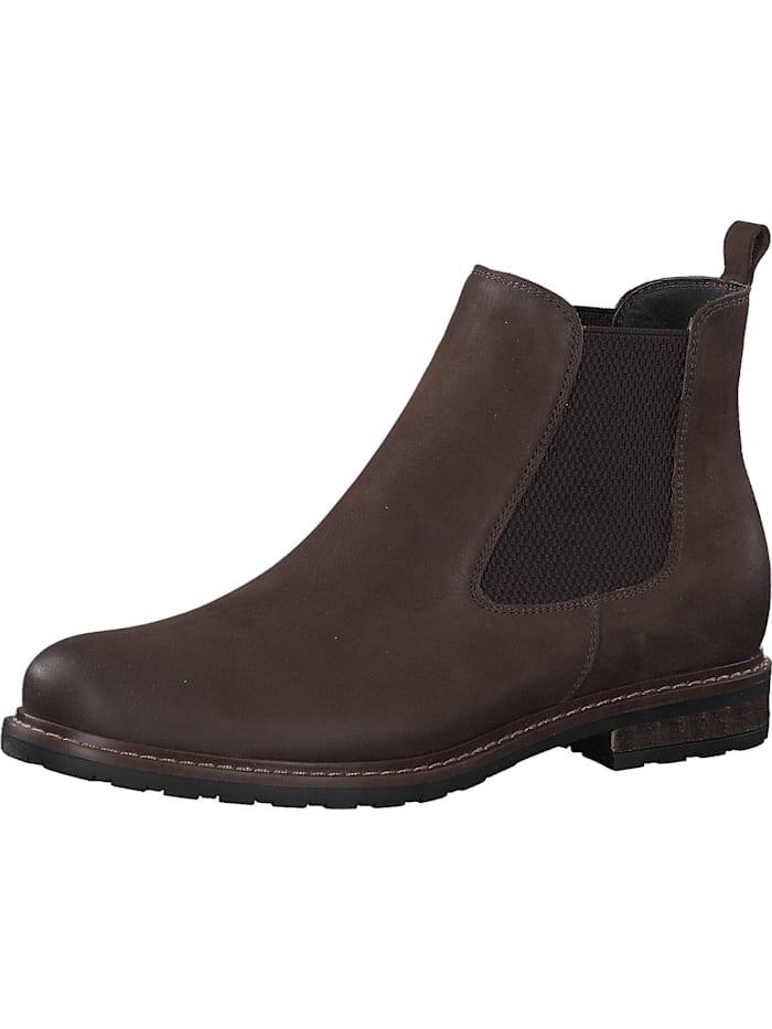 tamaris - Chelsea Boots  dunkelbraun