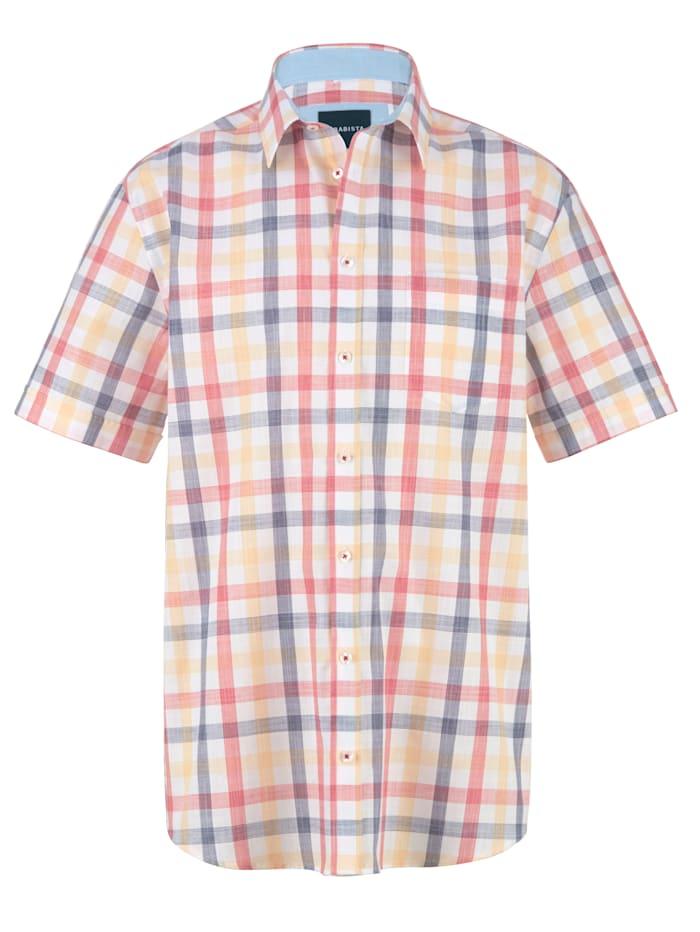 Overhemd BABISTA Rood::Geel