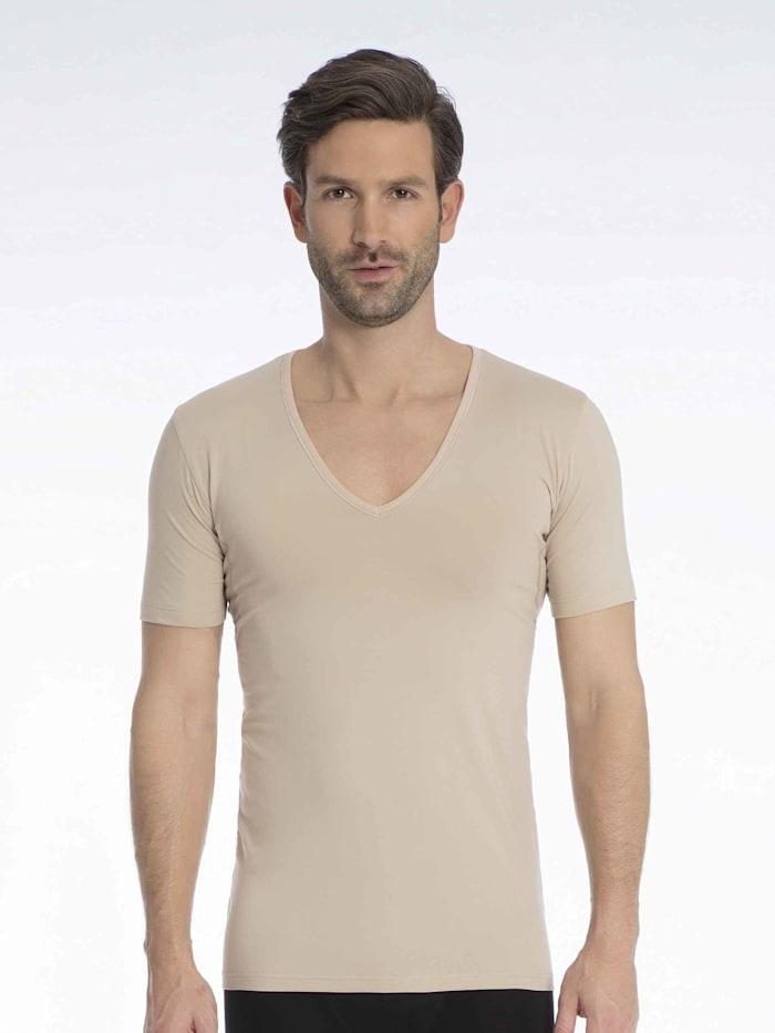 mey - Atmungsaktives Business Shirt mit V-Neck  Light Skin