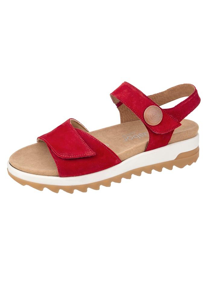 Sandaaltje Gabor Rood