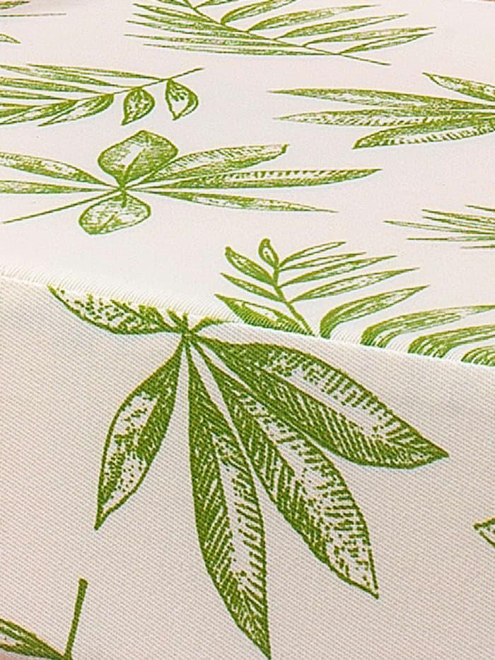 Stoelverhoger met scheerwol K & N Schurwolle naturel/groen