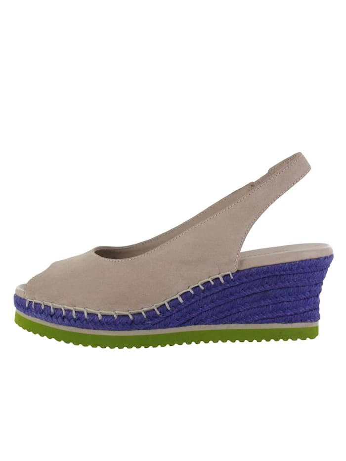 flip flop - Keilsandale Oasis  grau