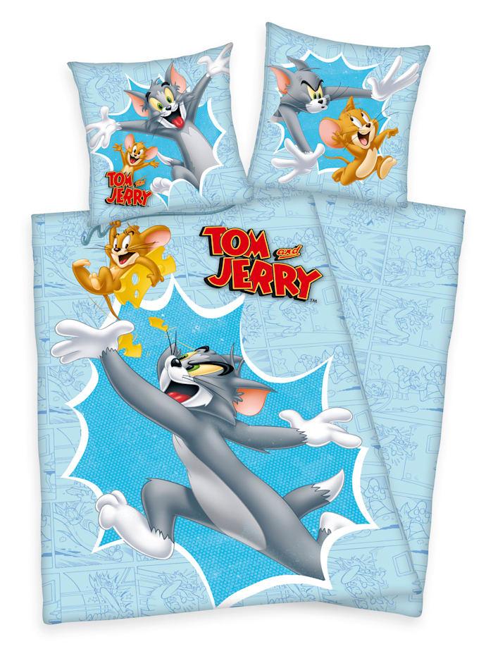 "Image of 2 tlg. Bettwäsche ""Tom & Jerry"" KLiNGEL Multicolor"