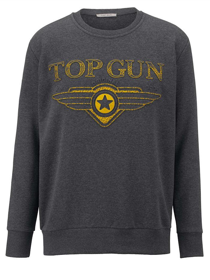 Sweatshirt Top Gun Donkergroen