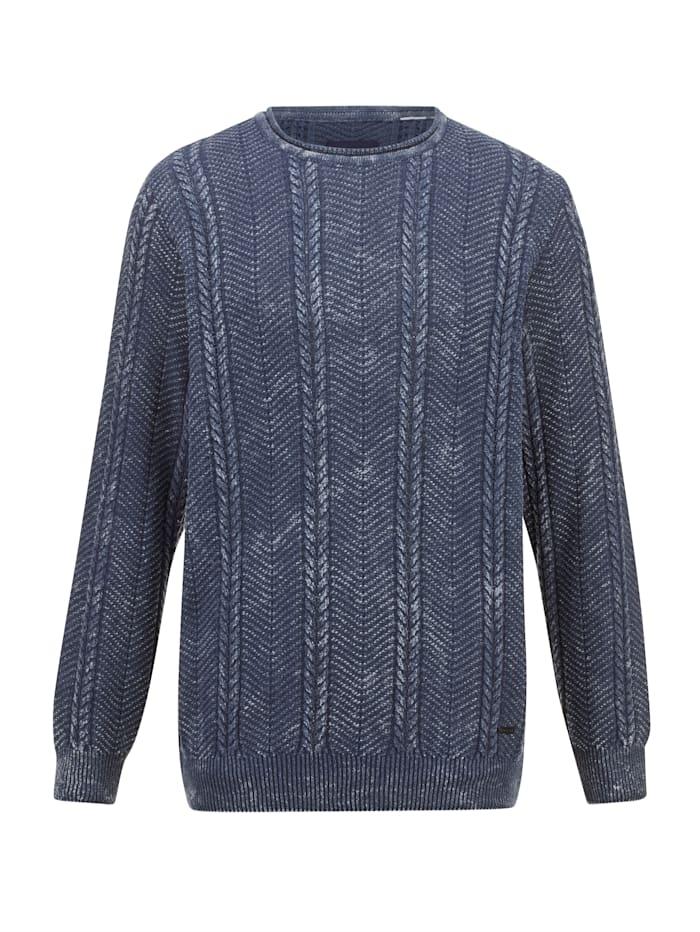 babista - Pullover  Blau