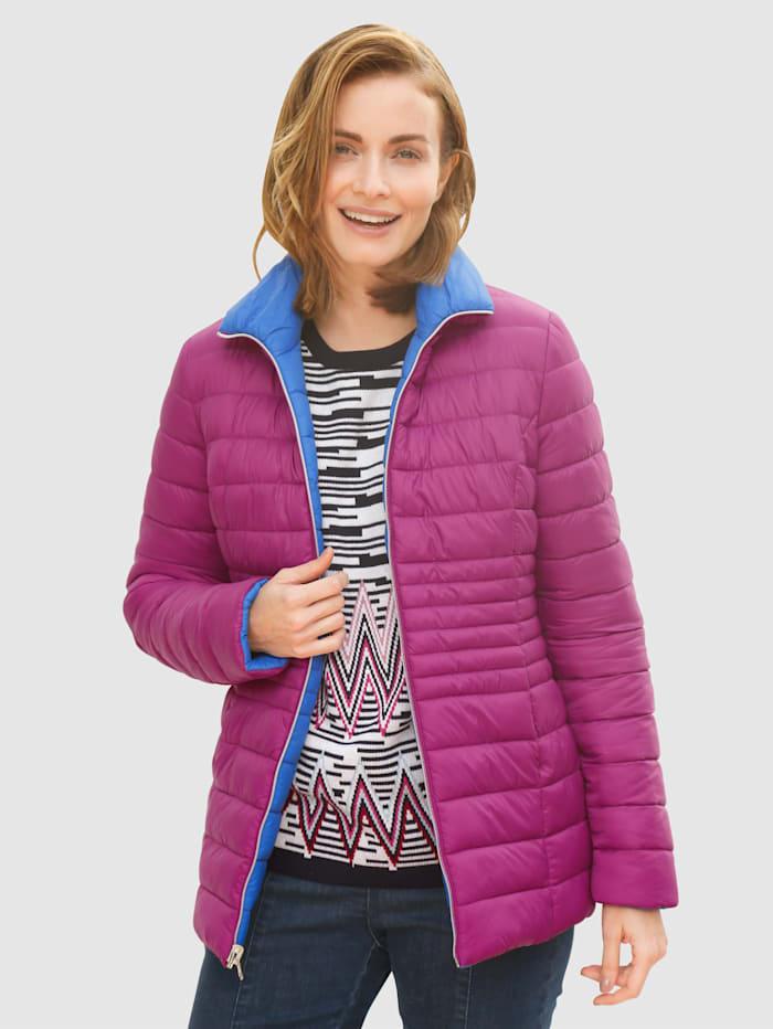 Keerbare jas Paola Royal blue::Cyclaam