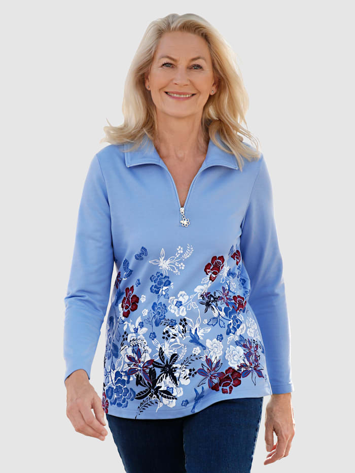 Image of 2er P. Sweatshirt Paola Blau