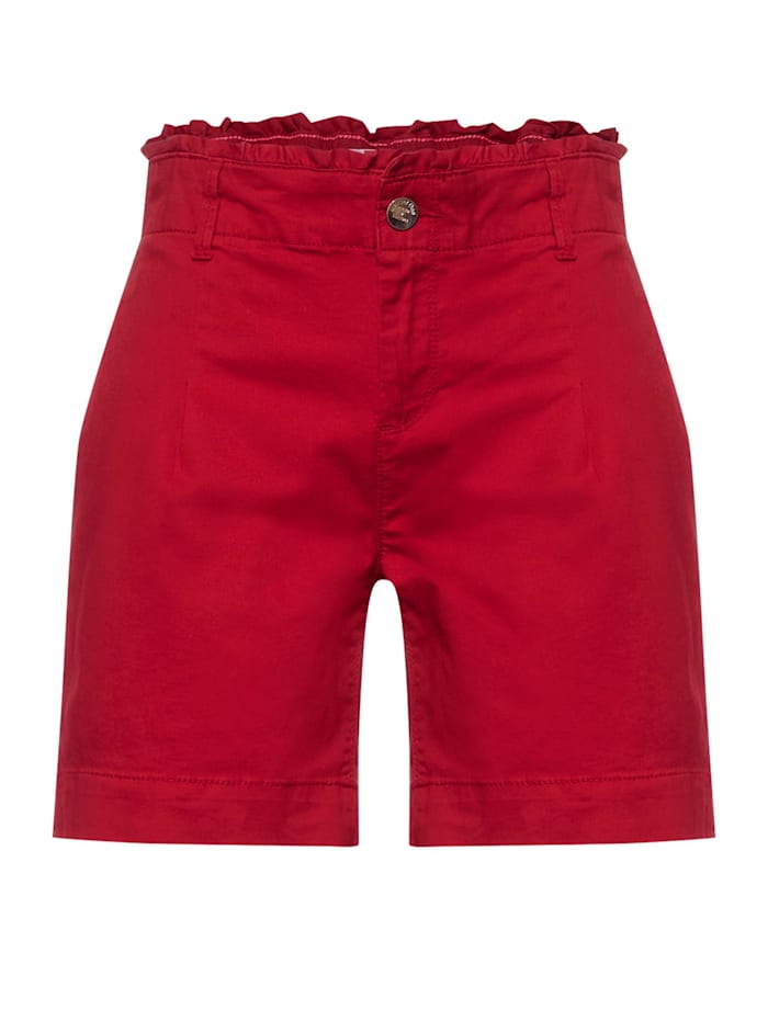 street one - Paperbag Bermuda  spice red