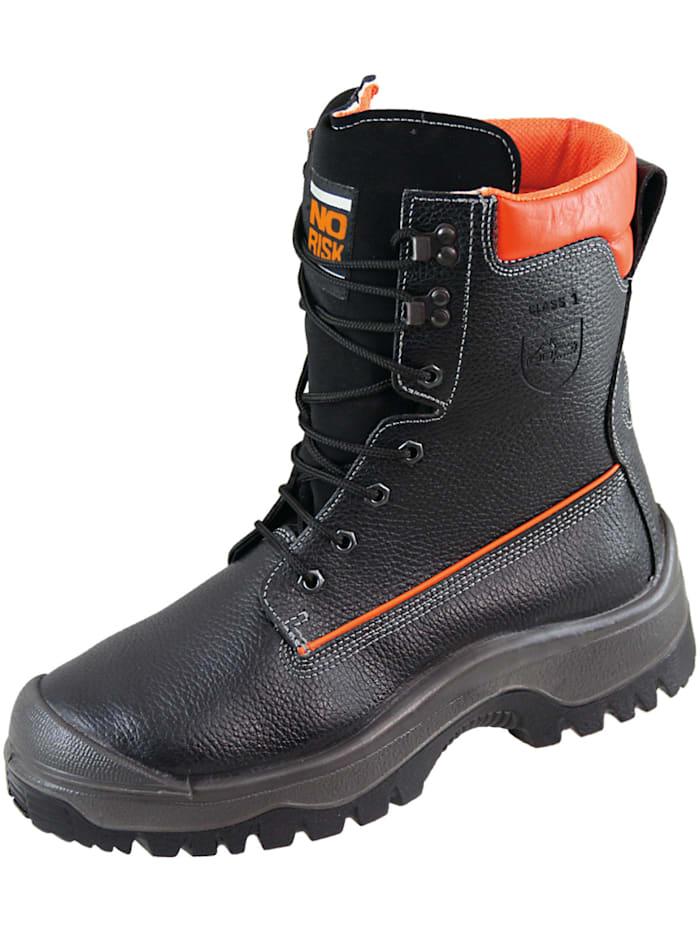 norisk - Schnittschutzstiefel  Schnittschutzstiefel  schwarz/orange