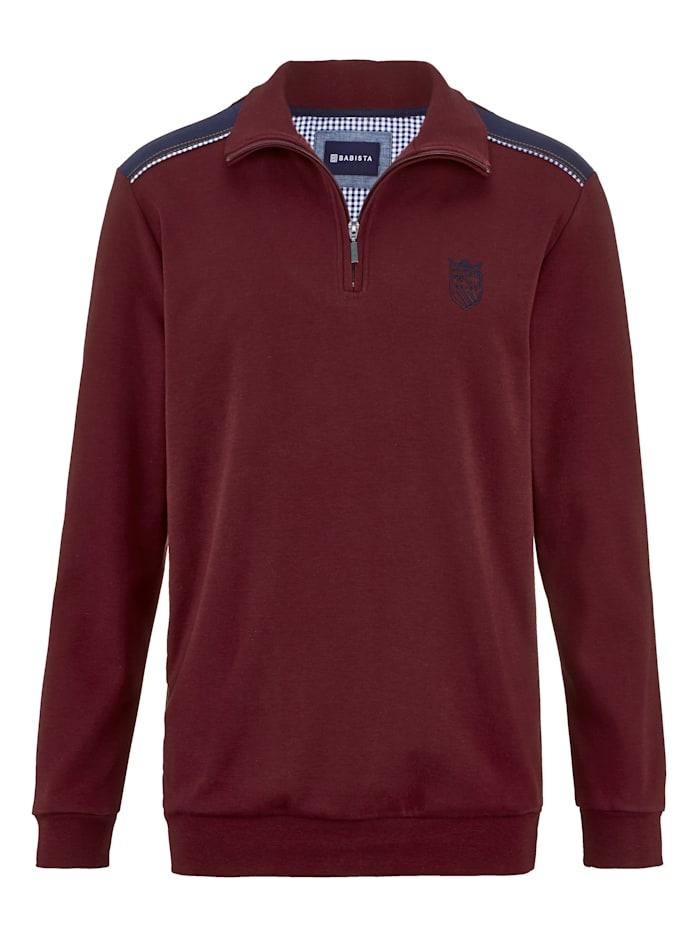 Sweatshirt BABISTA Bordeaux