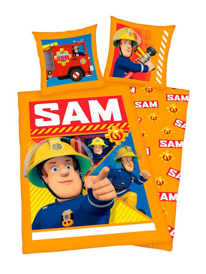 "Image of 2 tlg. Bettwäsche ""Feuerwehrmann SAM"" KLiNGEL Multicolor"