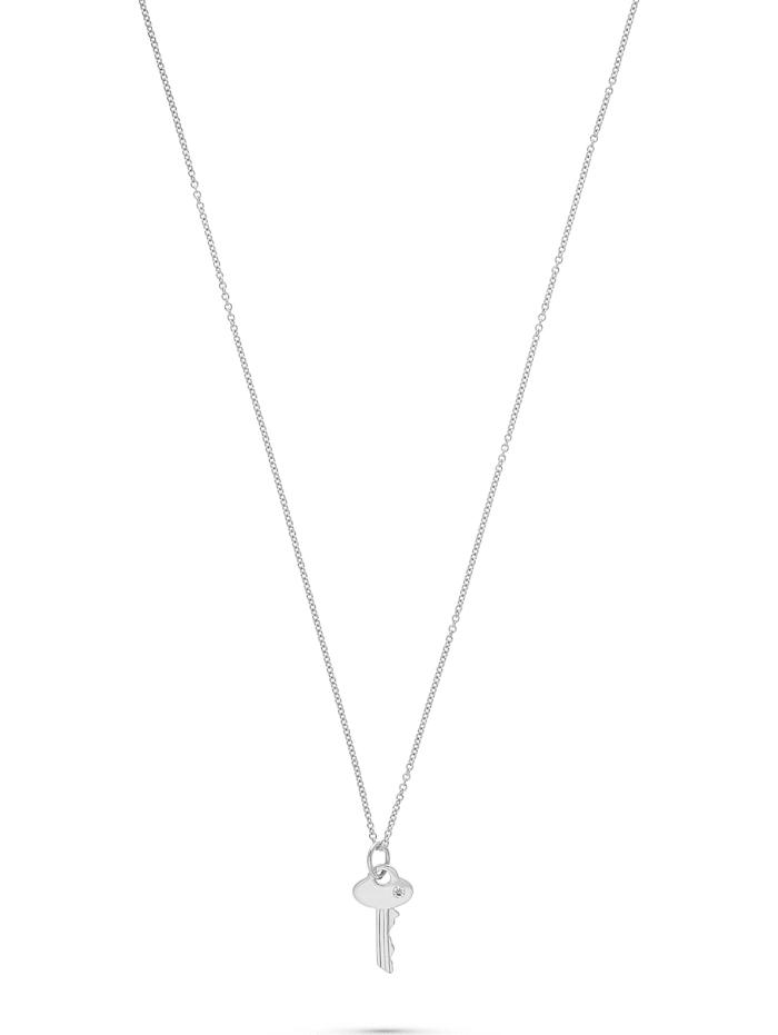guido maria kretschmer -  Damen-Kette 925er Silber 1 Diamant  silber