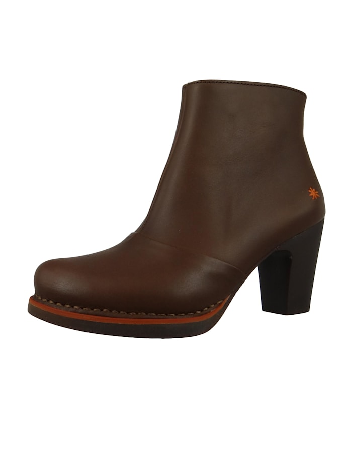 *art - Damen Leder Stiefelette Ankle Boot Gran Via Brown Braun 1142  Brown