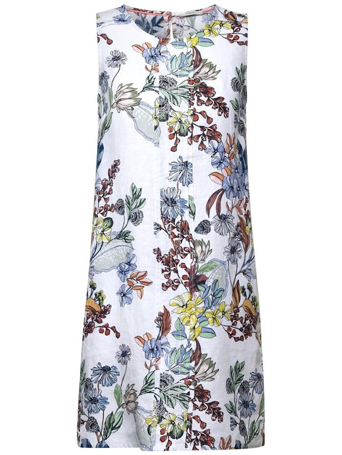 cecil - Kleid mit Blumenprint  White