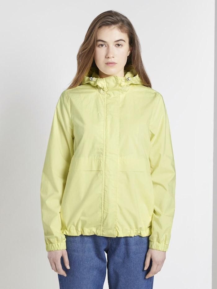 tom tailor denim - Windbreaker mit Kapuze  daffodil yellow