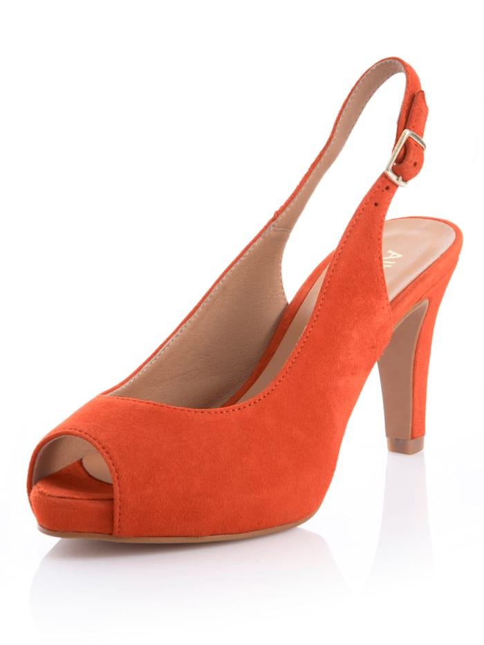Sandaaltje Alba Moda Oranje