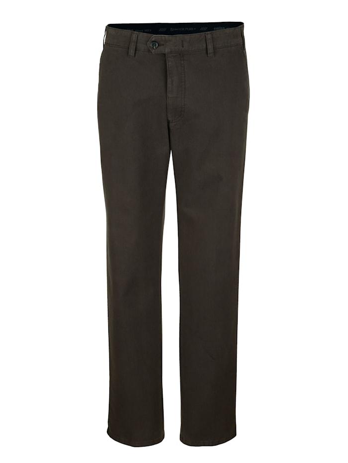 Pantalon sans pinces Brühl Marron