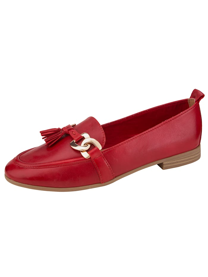 marco tozzi - Loafer  Rot