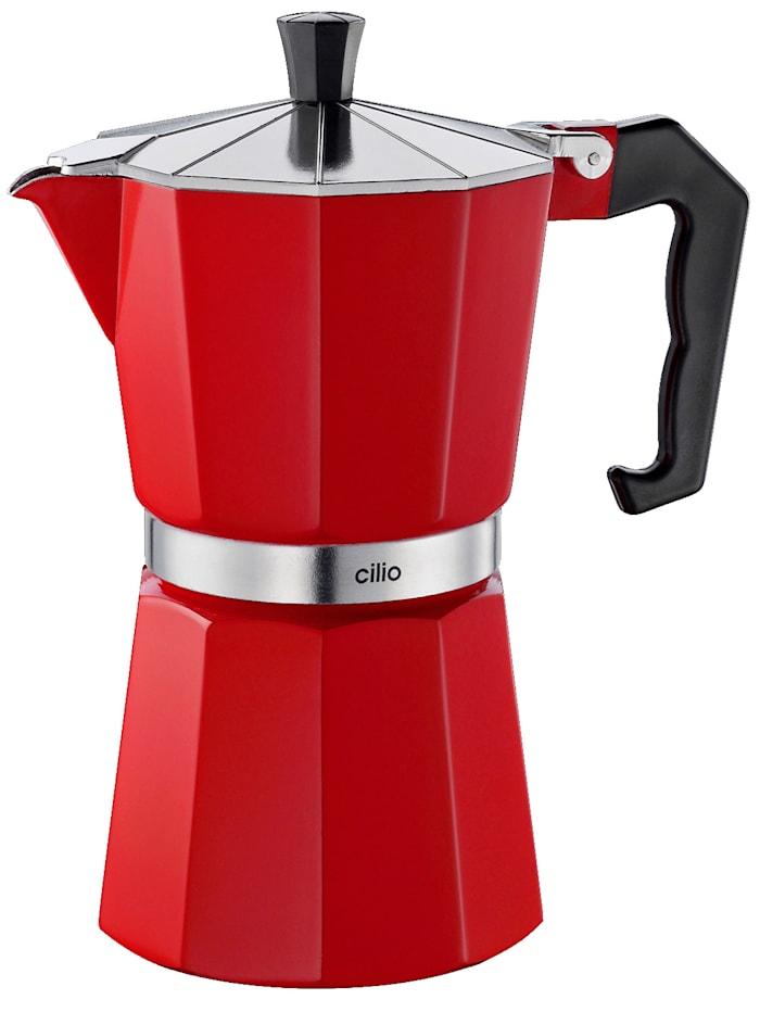 Espressomaker Classico Cilio rood