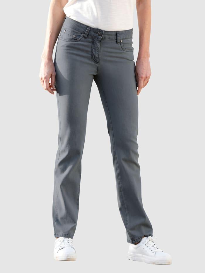 Jeans Dress In Grijs