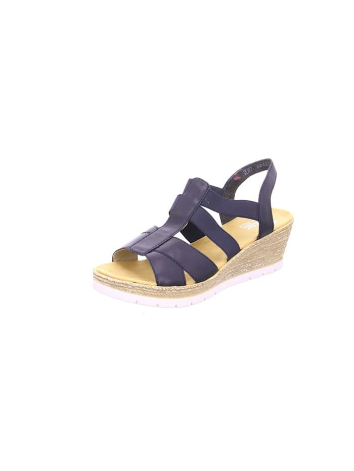 rieker - Sandale Sandale  blau