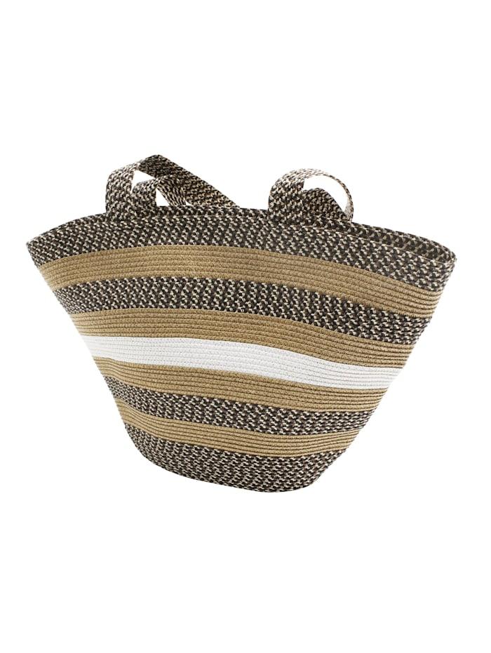 samaya - Strandtasche Orphee  braun/beige