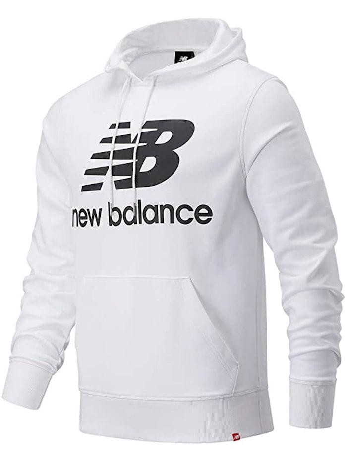 new balance -  Hoodie Essentials Stacked Logo Po  Weiß