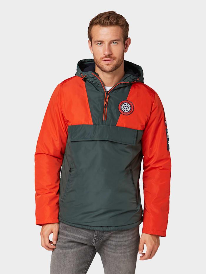 tom tailor - Windbreaker mit Kapuze  orange red