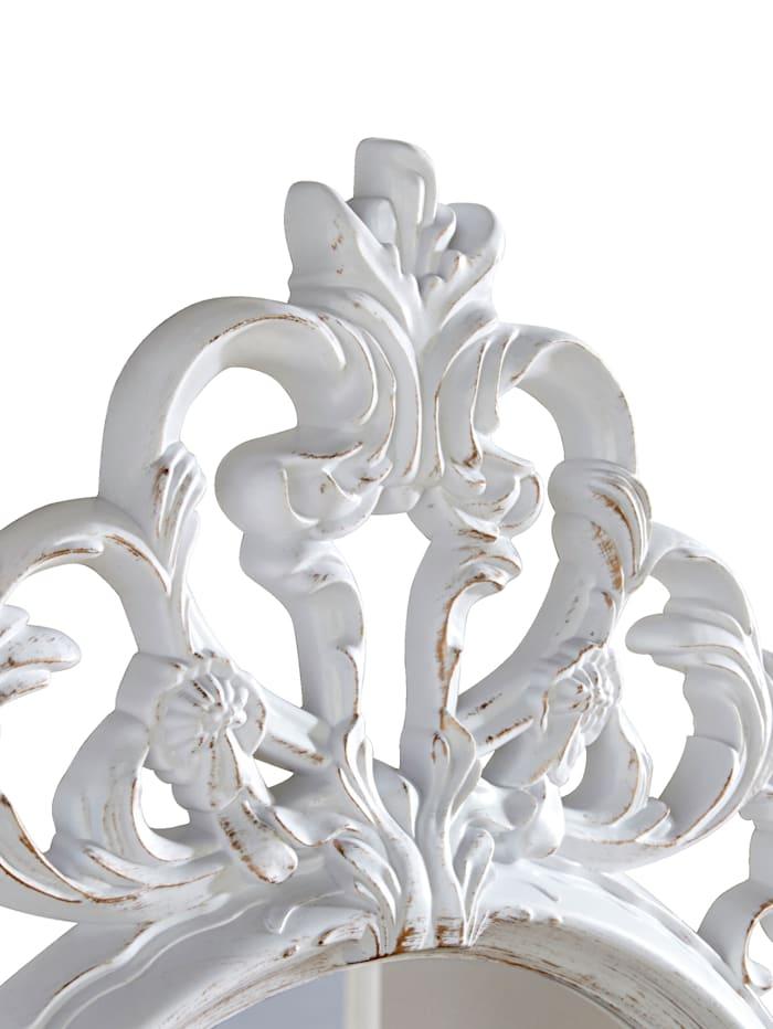 Barockspiegel KLiNGEL Weiß