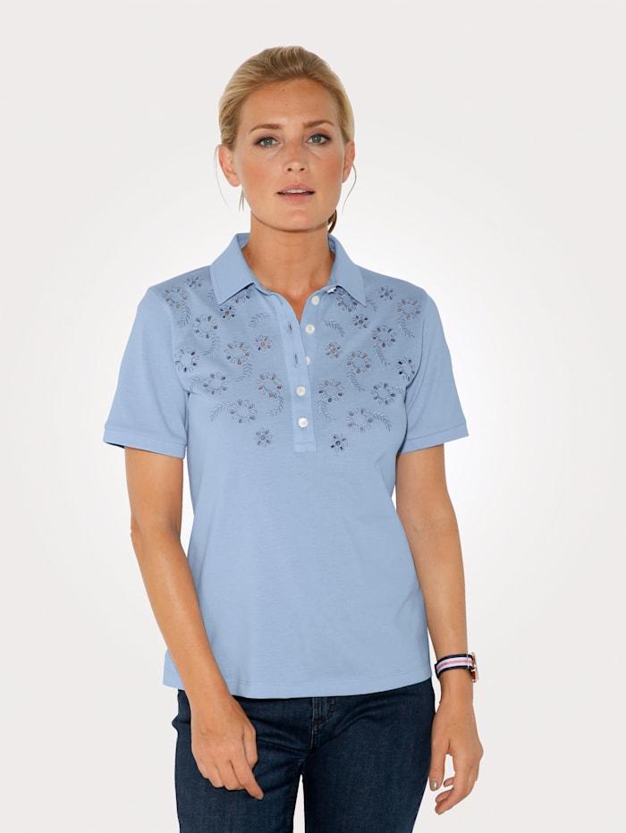Poloshirt MONA Lichtblauw