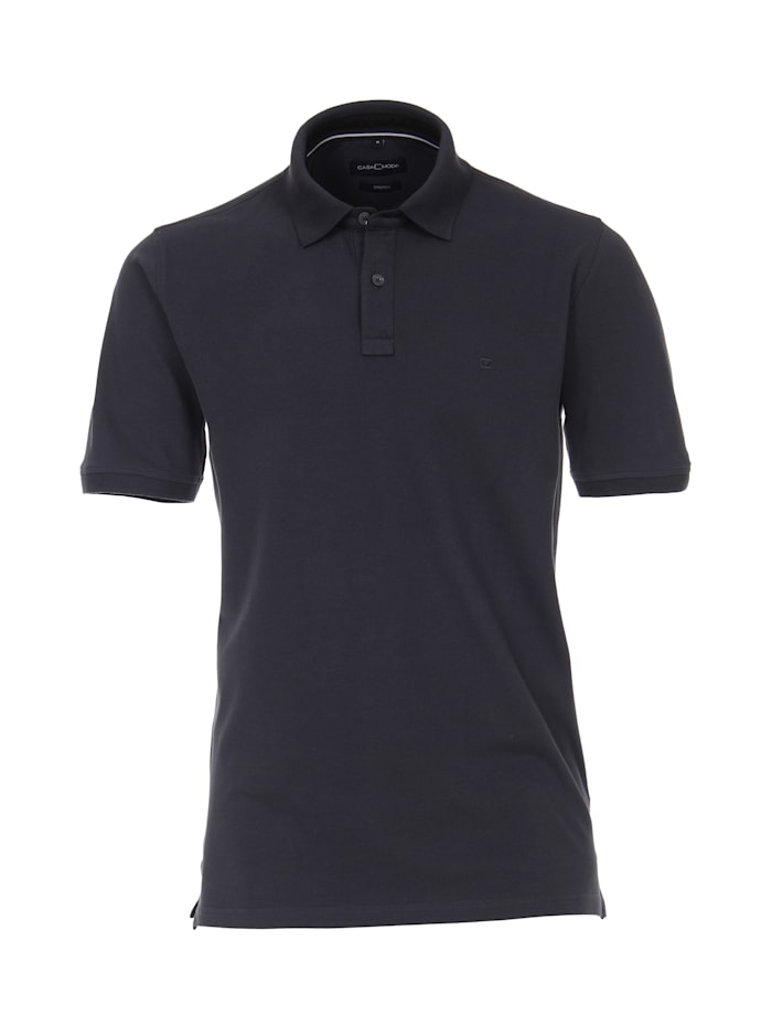 casamoda - Polo-Shirt uni  Dunkelgrau