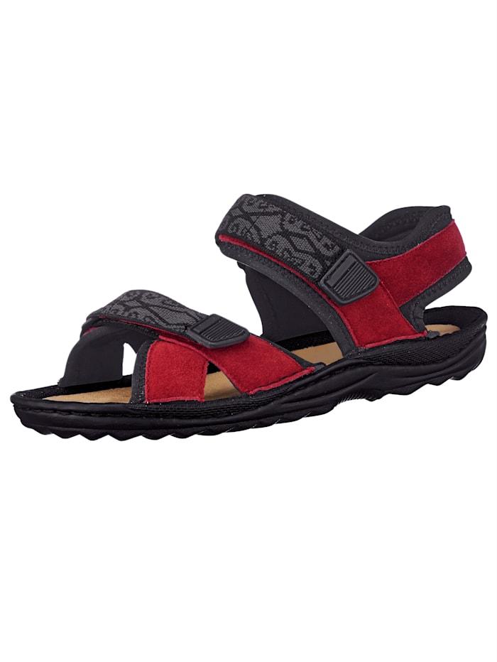 Sandaal Naturläufer Rood