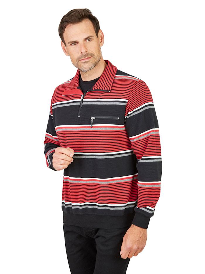 Sweatshirt Hajo schwarz