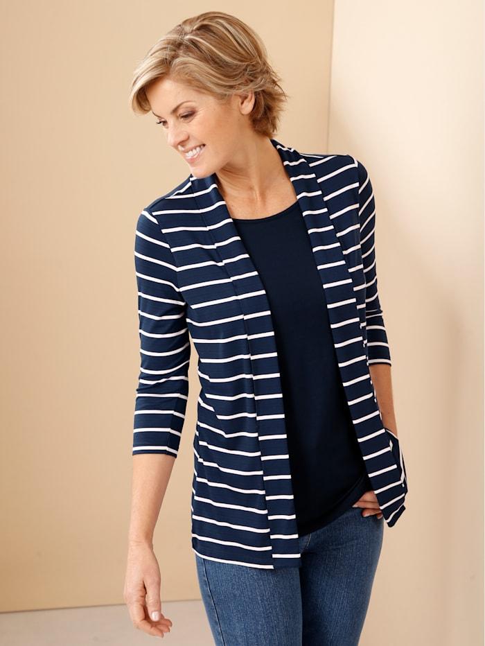 2in1 Shirt Paola Marineblau