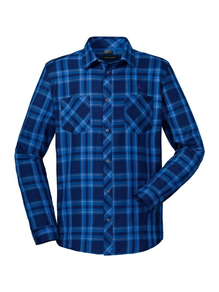 schöffel -  Hemd Maastricht2  Blau
