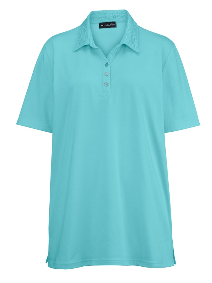 M. collection Poloshirt  Mint