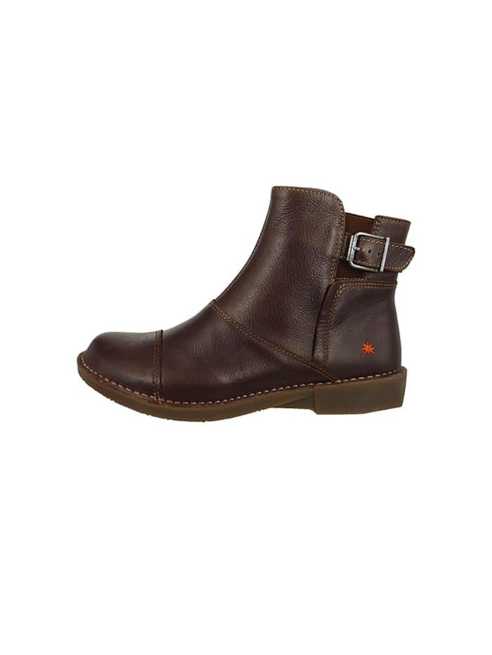 *art - Leder Stiefelette Ankle Boot Bergen Brown Braun 0917  Brown