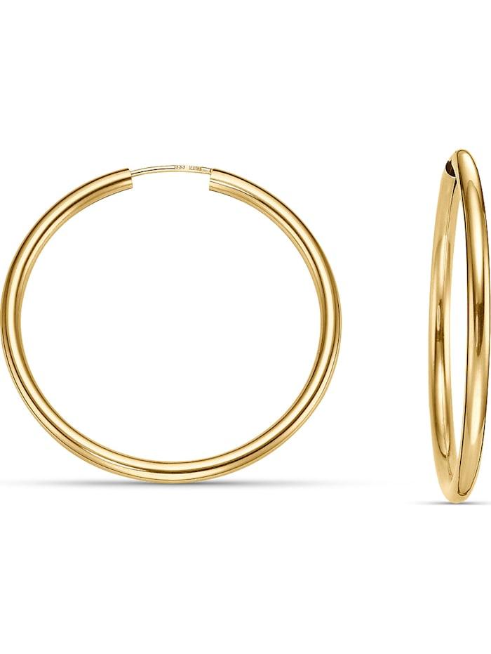 christ gold -  Damen-Creolen 333er Gelbgold  gold