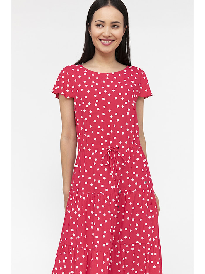 finn flare - Maxi-Kleid mit Punktemuster  azalea