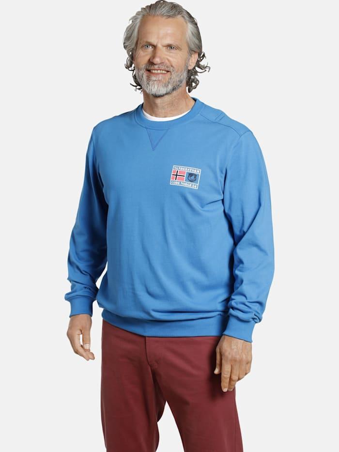jan vanderstorm -  Sweatshirt DEGENAR  blau