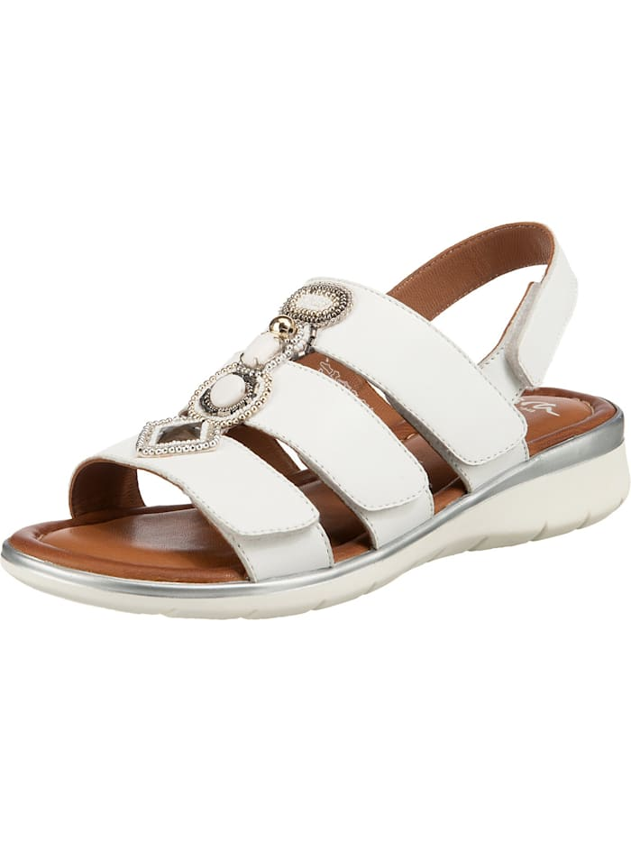 ara - Kreta Klassische Sandalen  weiß