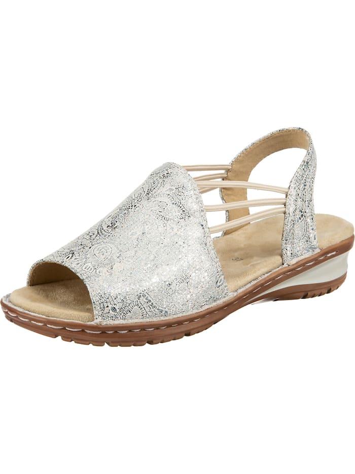 ara - Hawaii Komfort-Sandalen  silber