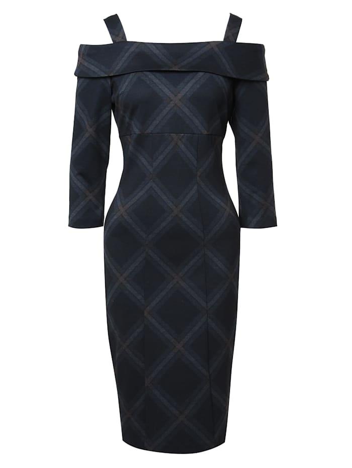 madam-t - Cocktailkleid Kleid Altoona  schwarzgrau