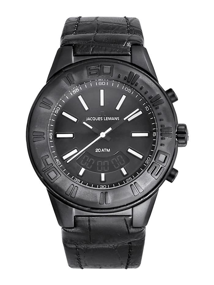 Horloge Jacques Lemans Zwart