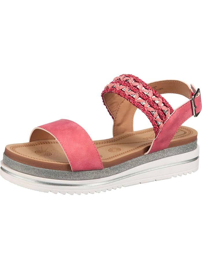 laufsteg - Klassische Sandaletten  rot