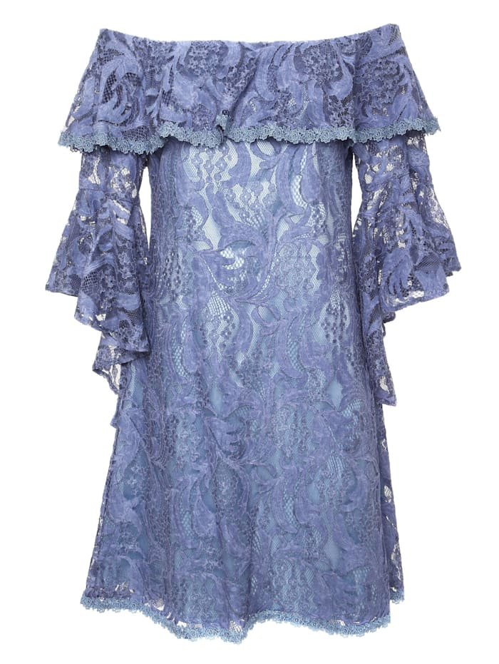 madam-t - Sommerkleid Sally  indigo