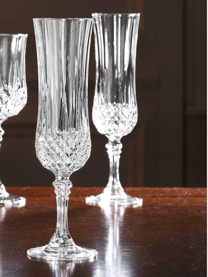 Set glazen 'Longchamp' Creatable kleurloos